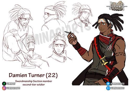 Damien Turner sketchdump [Original story - FW]