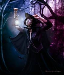 The Good Witch by Phatpuppyart-Studios