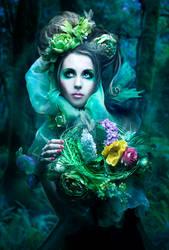 Spring Harvest by Phatpuppyart-Studios