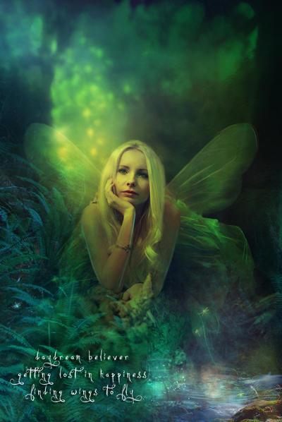 Daydream Believer by Phatpuppyart-Studios