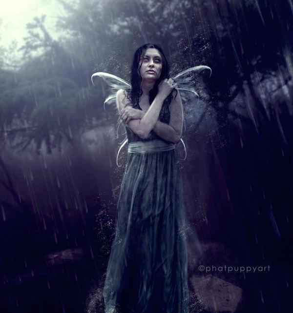 Disenchanted Fairy by Phatpuppyart-Studios