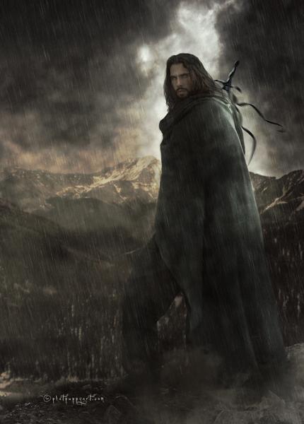 The Wanderer by Phatpuppyart-Studios
