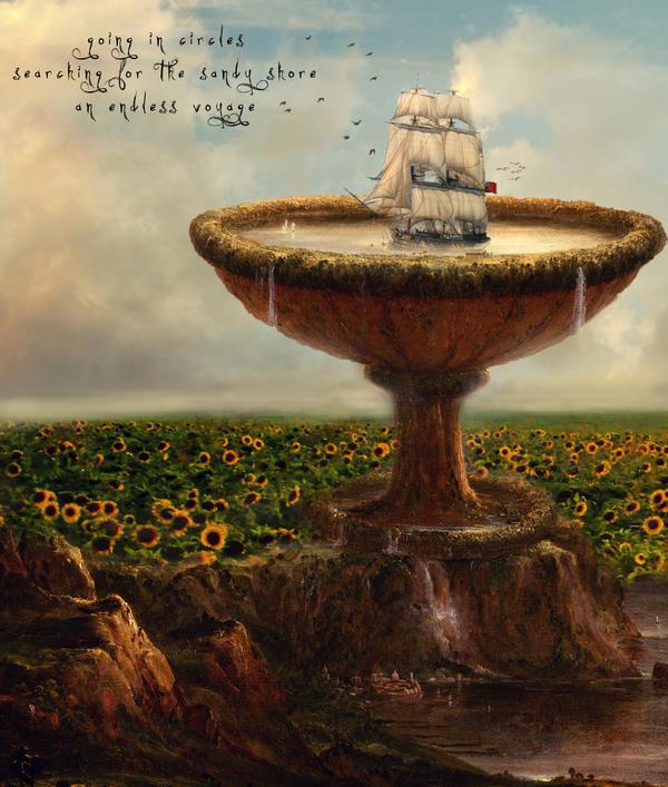 Going in Circles by Phatpuppyart-Studios