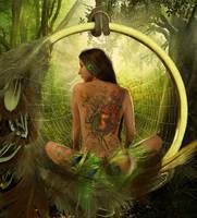 Dreamcatcher by Phatpuppyart-Studios
