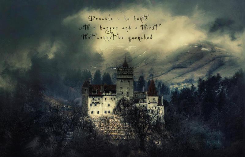 Dracula Thirsts by Phatpuppyart-Studios