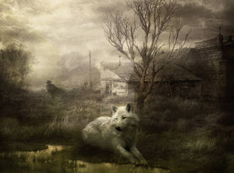 My Master's Gone Away by Phatpuppyart-Studios