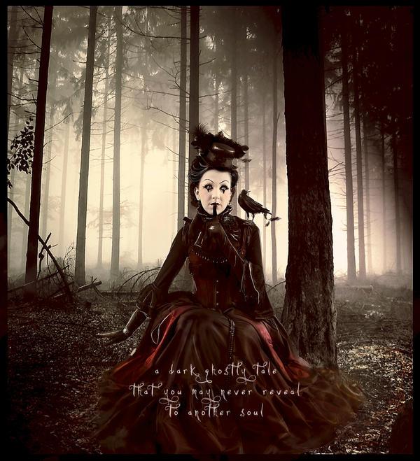 Ghost Story by Phatpuppyart-Studios