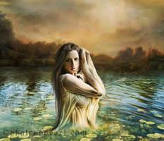 Lady of the Lake by Phatpuppyart-Studios