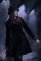 The Magician by Phatpuppyart-Studios