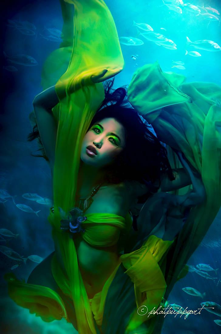 Sorrowful Ocean by Phatpuppyart-Studios