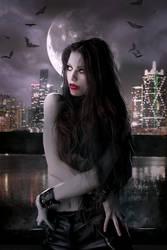 Pretty When She Kills by Phatpuppyart-Studios