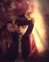 Silent Prayer for Japan by Phatpuppyart-Studios