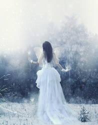The Birth of Winter by Phatpuppyart-Studios
