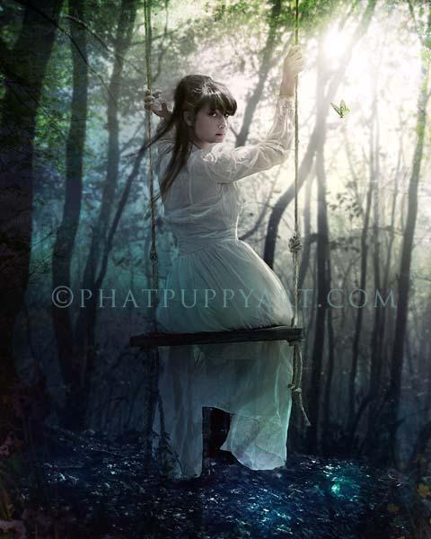 Just a Little Girl Inside by Phatpuppyart-Studios