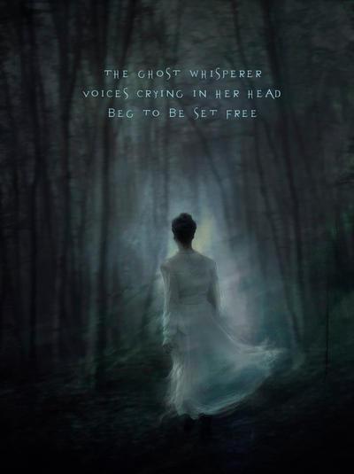 The Ghost Whisperer by Phatpuppyart-Studios