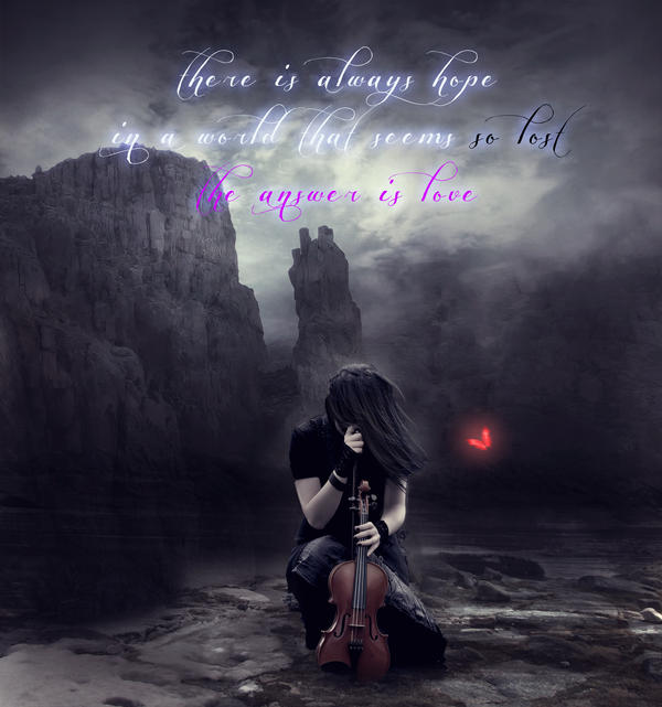 There is Always Hope by Phatpuppyart-Studios