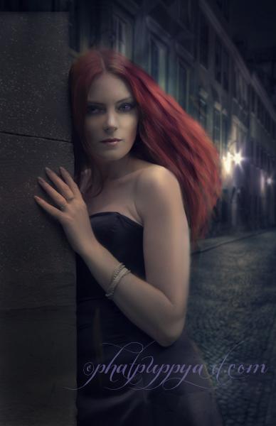 Around Dark Corners by Phatpuppyart-Studios