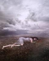 Dreaming Her Life Away by Phatpuppyart-Studios