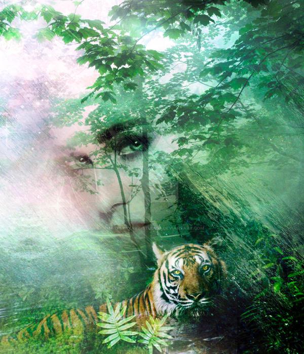 Mother Nature Weeps by Phatpuppyart-Studios