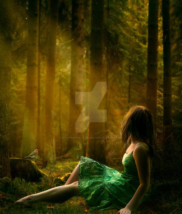 Tranquility by Phatpuppyart-Studios
