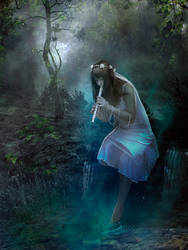 Summoning the Fairies by Phatpuppyart-Studios