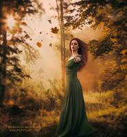 She Knows Her Destiny by Phatpuppyart-Studios
