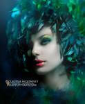 Bluebird by Phatpuppyart-Studios