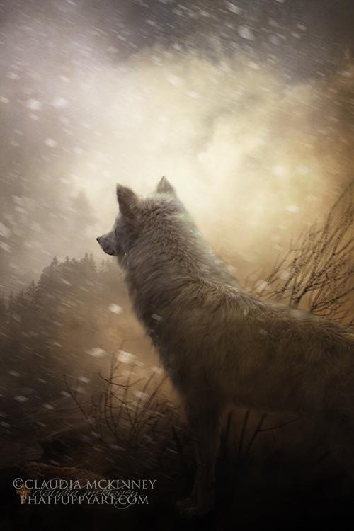 The Wolf of Gubbio by Phatpuppyart-Studios