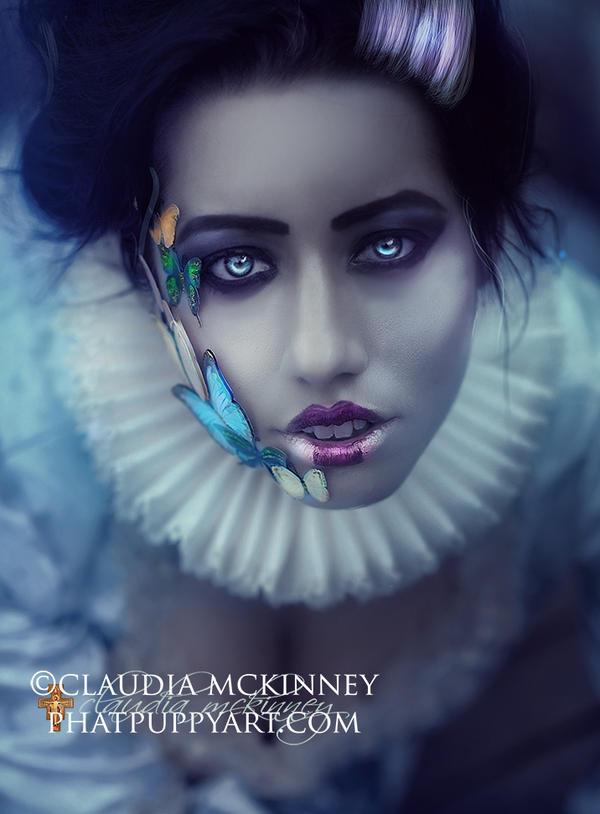 Wonderland Butterfly by Phatpuppyart-Studios