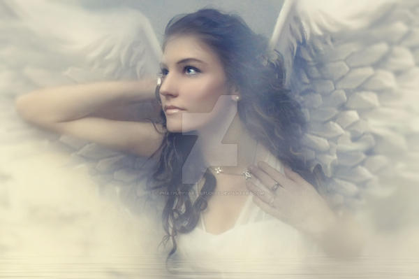 Angel by Phatpuppyart-Studios