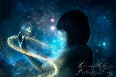 Child of the Universe by Phatpuppyart-Studios