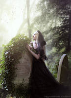 Black Bride by Phatpuppyart-Studios