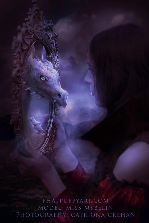 Mirror Mirror by Phatpuppyart-Studios
