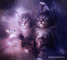 Rain Rain Go Away by Phatpuppyart-Studios