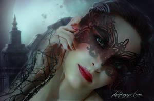 Beautifully Gothic by Phatpuppyart-Studios