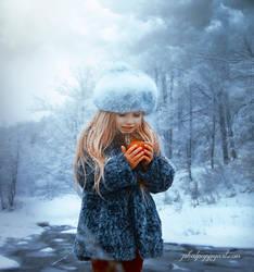 Dreams of Winter by Phatpuppyart-Studios