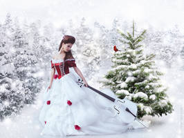 Christmas Song by Phatpuppyart-Studios