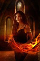 The Flame by Phatpuppyart-Studios