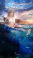 Valeria the Mermaid by Phatpuppyart-Studios