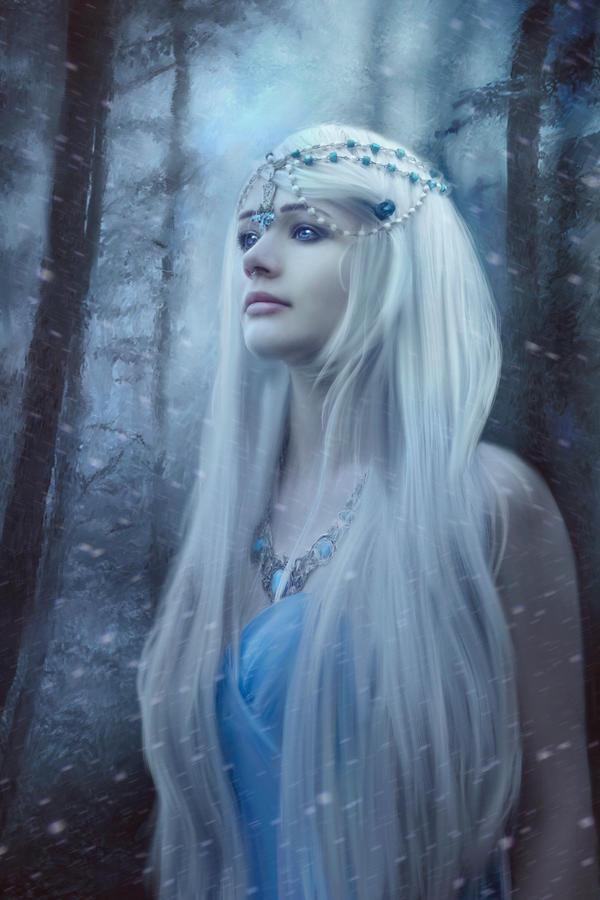 Snow Queen by Phatpuppyart-Studios