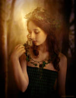Miss Ivy by Phatpuppyart-Studios