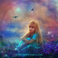 Beautiful World by Phatpuppyart-Studios