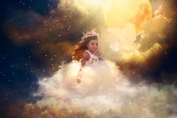 Dances with the Moon by Phatpuppyart-Studios