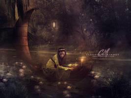 Lady of Shalott by Phatpuppyart-Studios