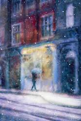 A Happy Christmas by Phatpuppyart-Studios