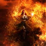 Infernal Blade by Phatpuppyart-Studios