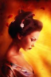 Sun Goddess by Phatpuppyart-Studios