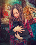 Puppy Love by Phatpuppyart-Studios