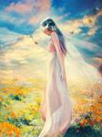 Flower Child by Phatpuppyart-Studios