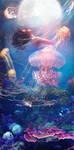 La Mer Danse by Phatpuppyart-Studios